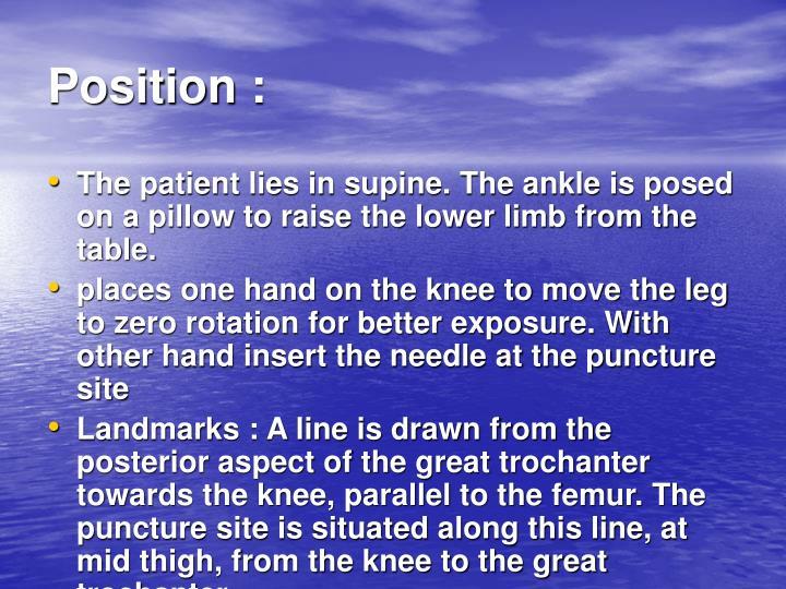 Position :