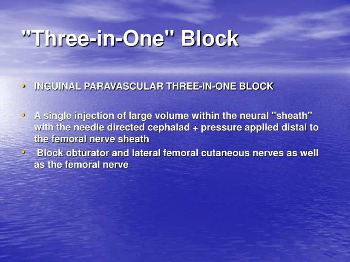 """Three-in-One"" Block"