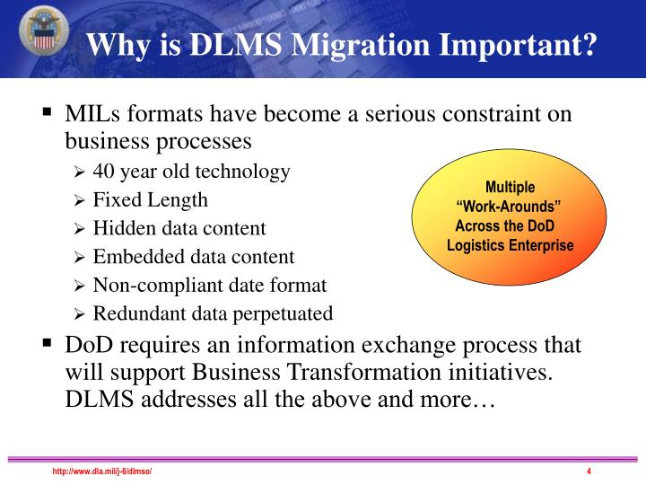 Why is DLMS Migration Important?