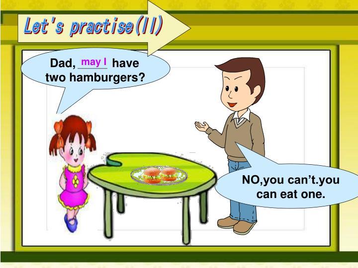Let's practise(II)