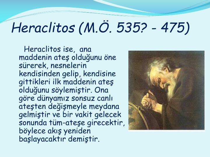 Heraclitos