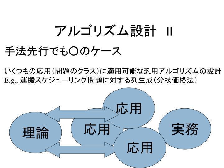 アルゴリズム設計