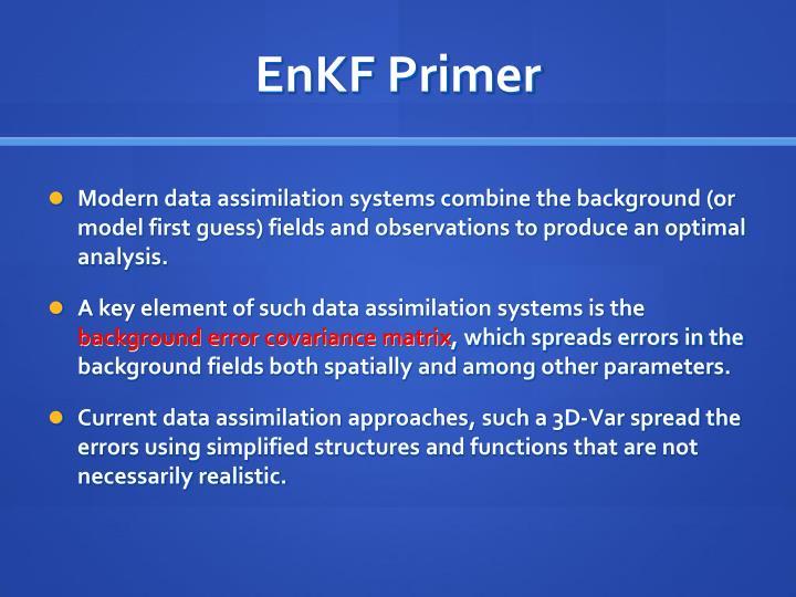 EnKF Primer