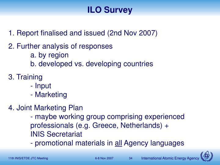 ILO Survey