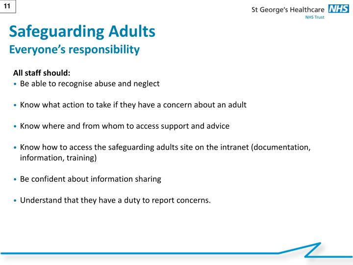 Safeguarding Adults
