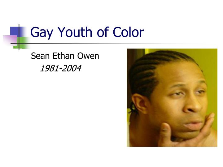 Gay Youth of Color
