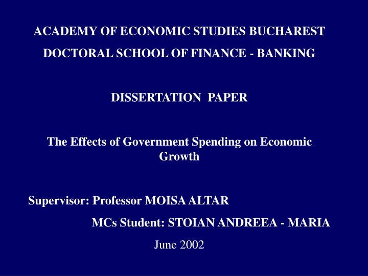 Dissertation Banking Regulation