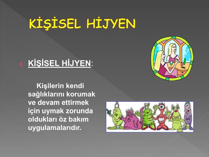KİŞİSEL