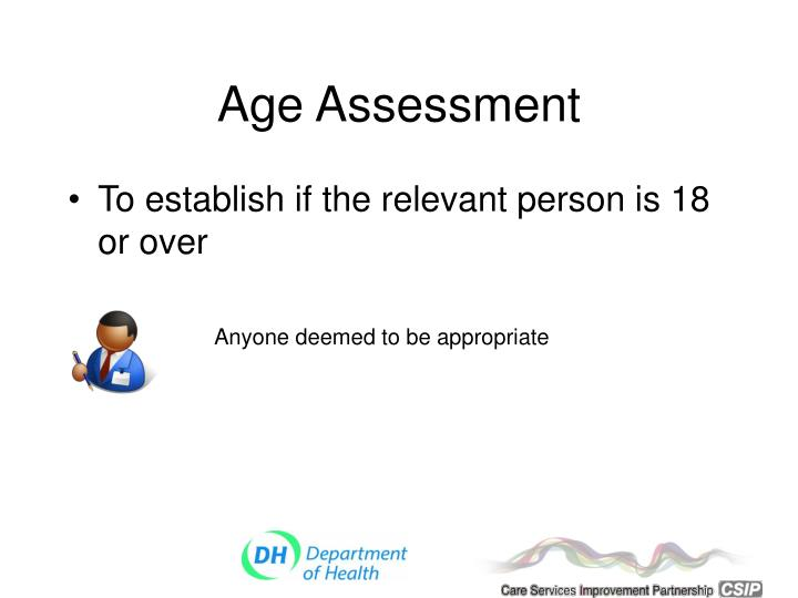 Age Assessment