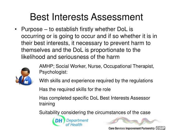 Best Interests Assessment
