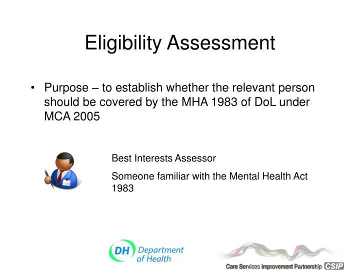 Eligibility Assessment