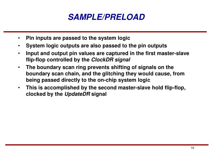 SAMPLE/PRELOAD