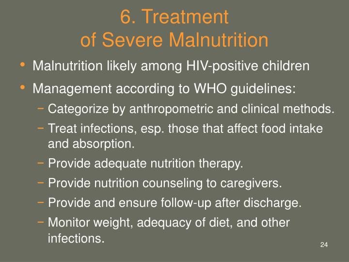 6. Treatment