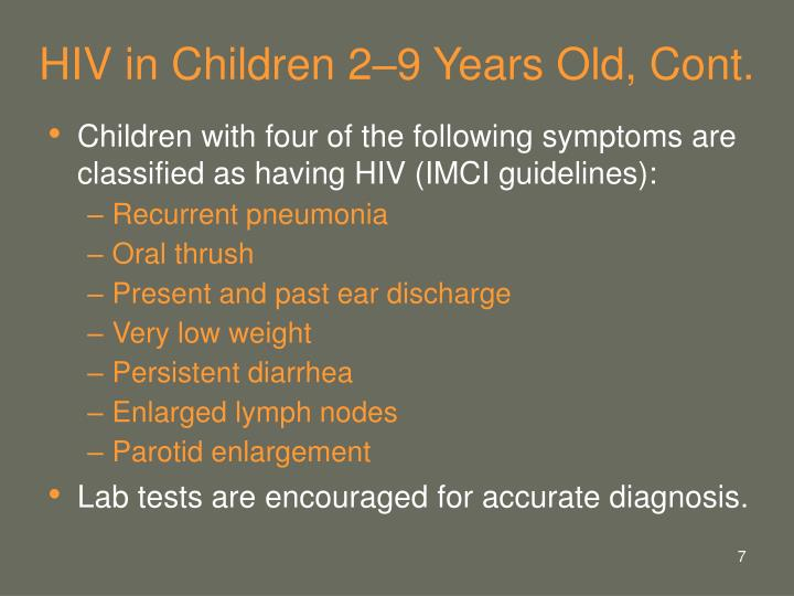 HIV in Children 2