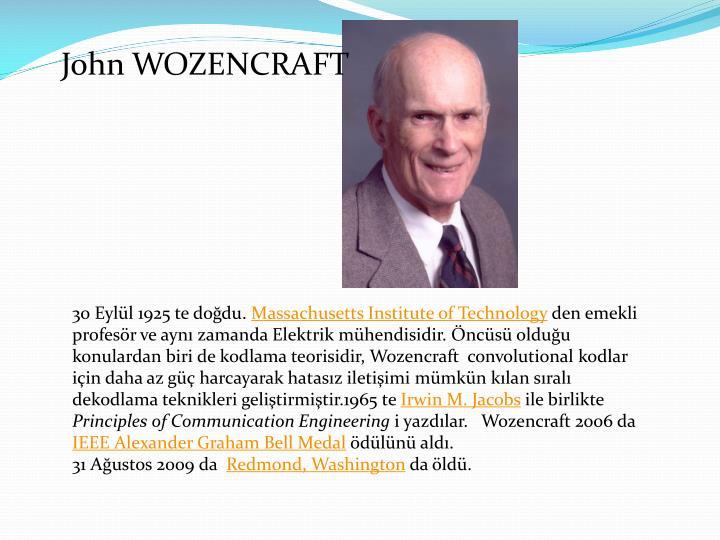 John WOZENCRAFT