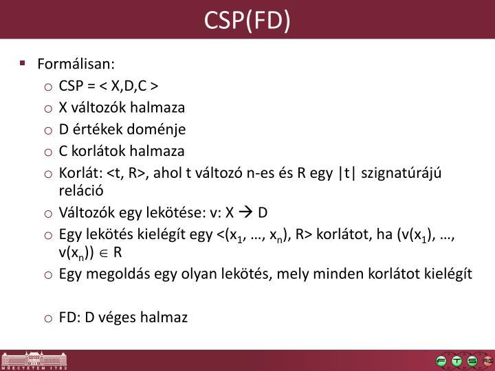 CSP(FD