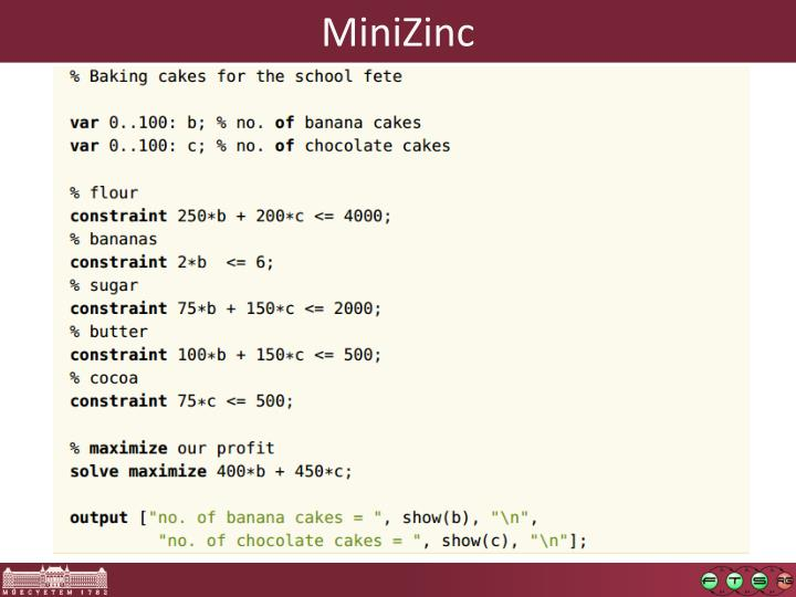 MiniZinc
