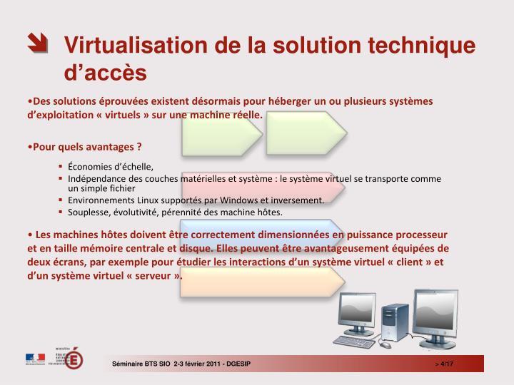 Des solutions éprouvées existent désormais pour héberger un ou plusieurs systèmes d'exploitation «virtuels» sur une machine réelle.