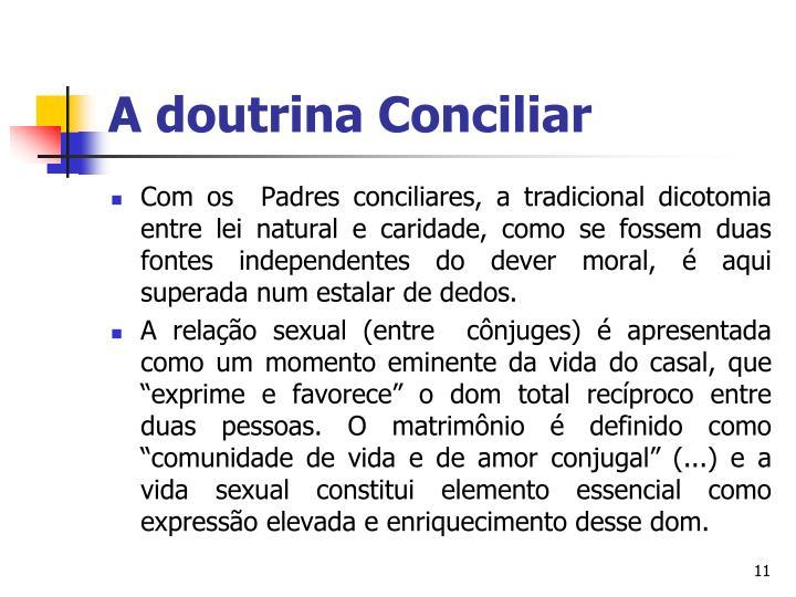 A doutrina Conciliar