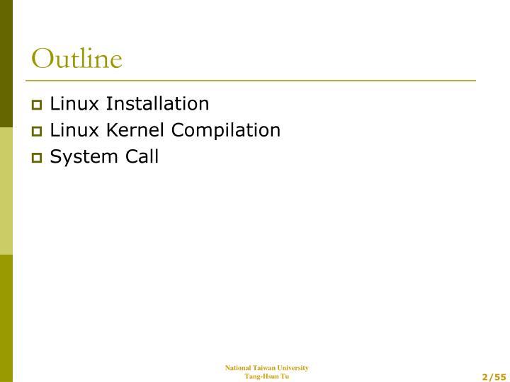 Linux Installation