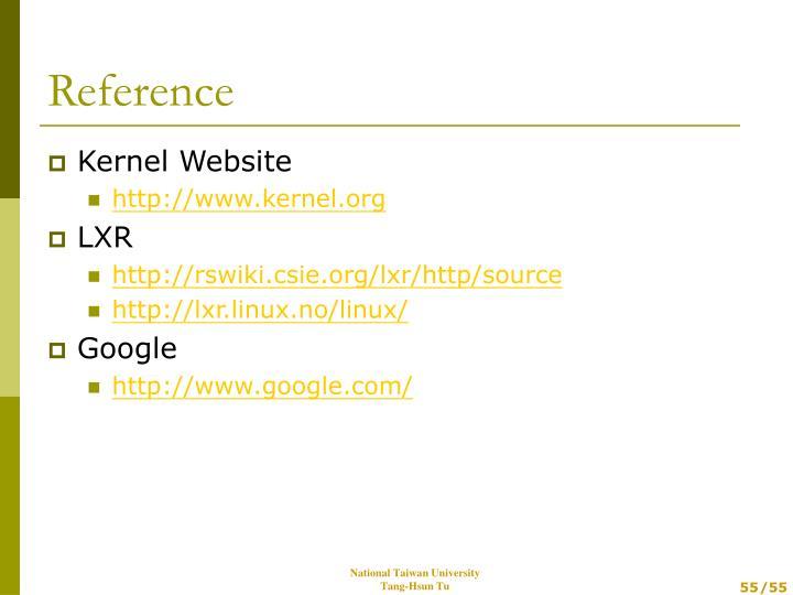 Kernel Website