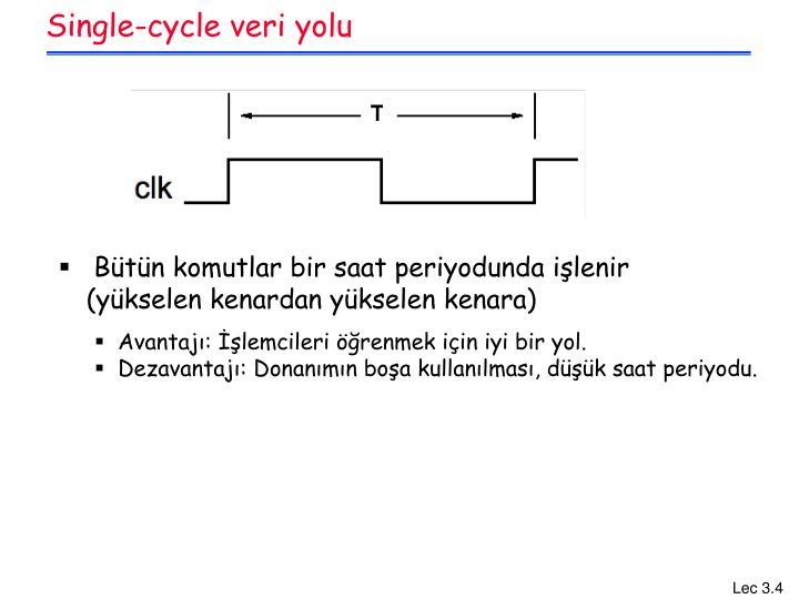 Single-cycle