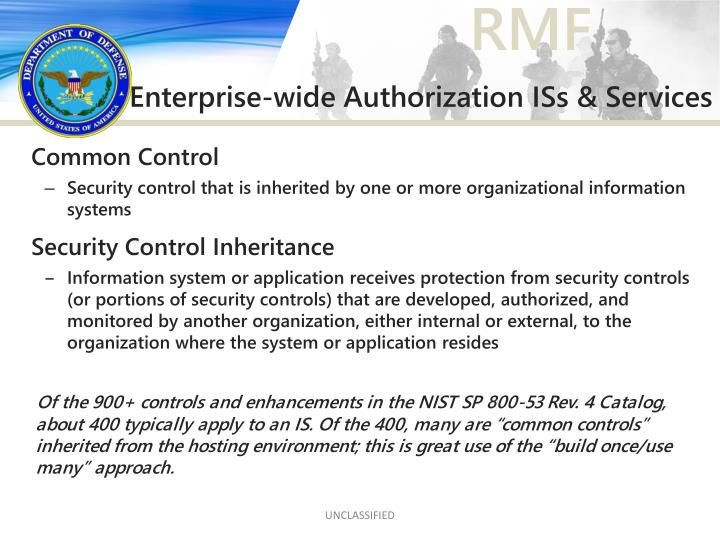 Enterprise-wide Authorization ISs & Services