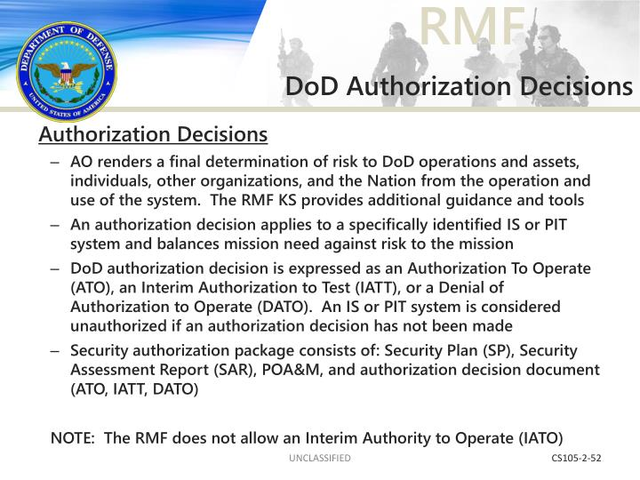 DoD Authorization