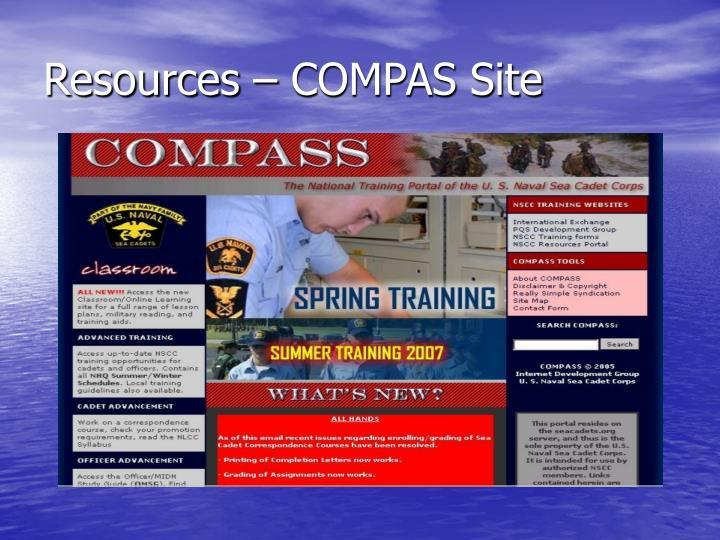 Resources – COMPAS Site
