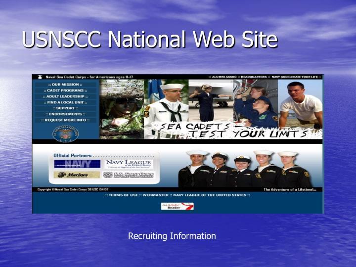 USNSCC National Web Site