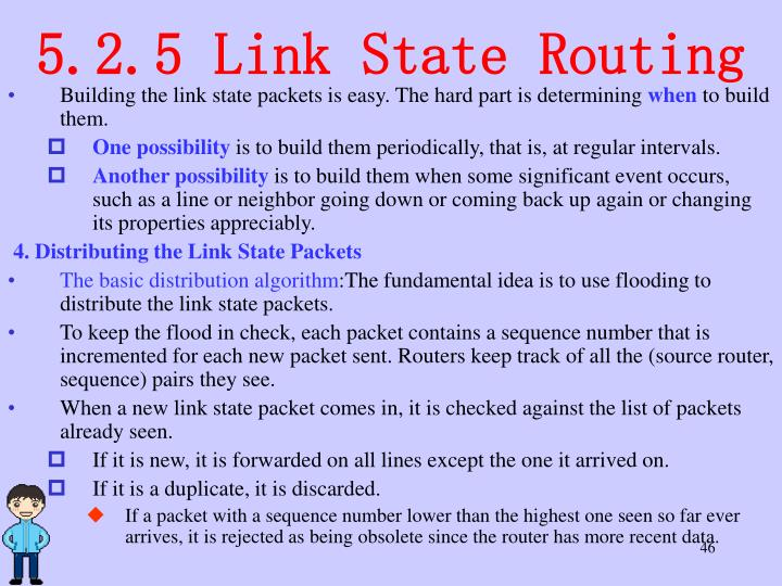 5.2.5 Link State Routing