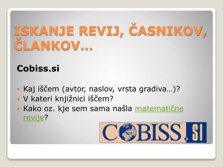 Cobiss.si