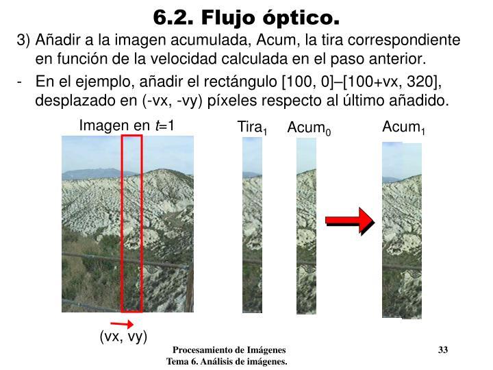 6.2. Flujo óptico.