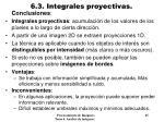 6 3 integrales proyectivas9
