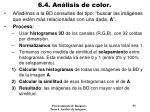 6 4 an lisis de color9