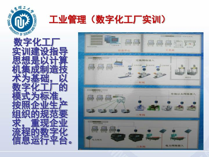 工业管理(数字化工厂实训)