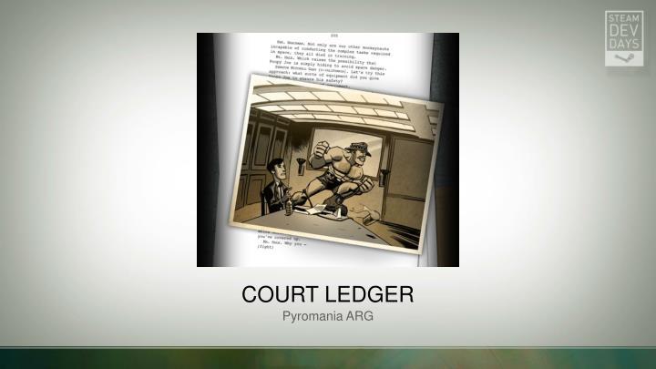 Court ledger