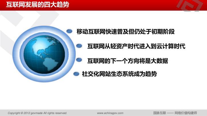 互联网发展的四大趋势