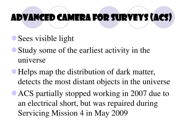 Advanced Camera for Surveys (ACS)