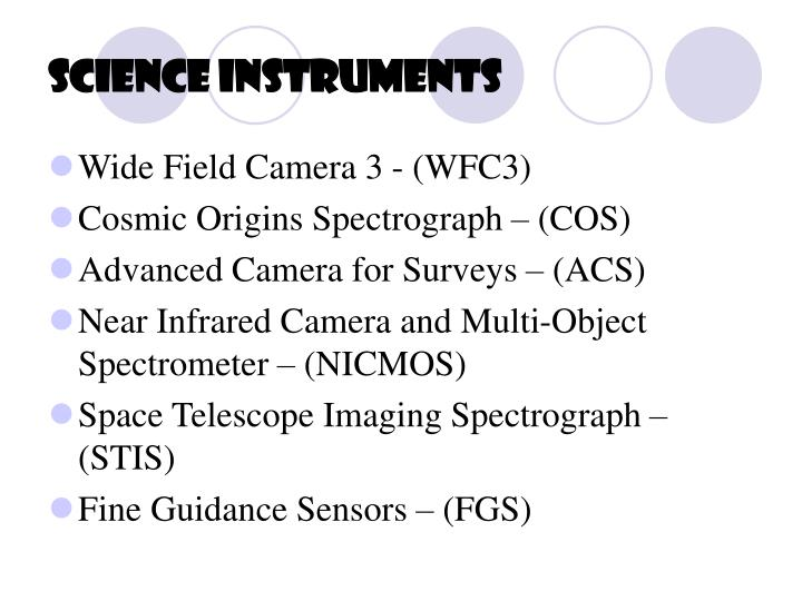 Science Instruments