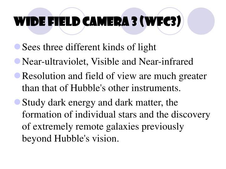Wide Field Camera 3 (WFC3)