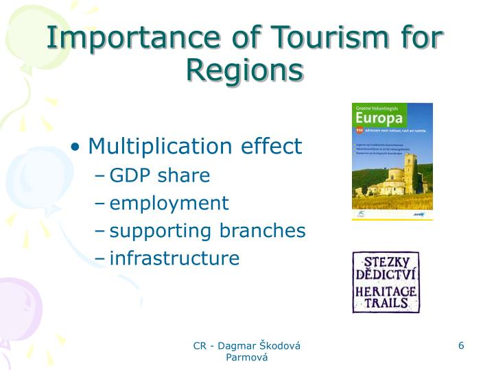Importance of Tourism for Regions