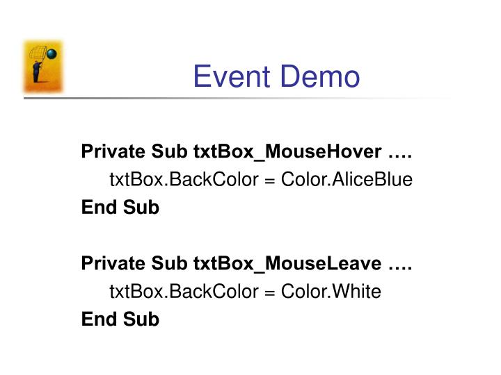 Event Demo