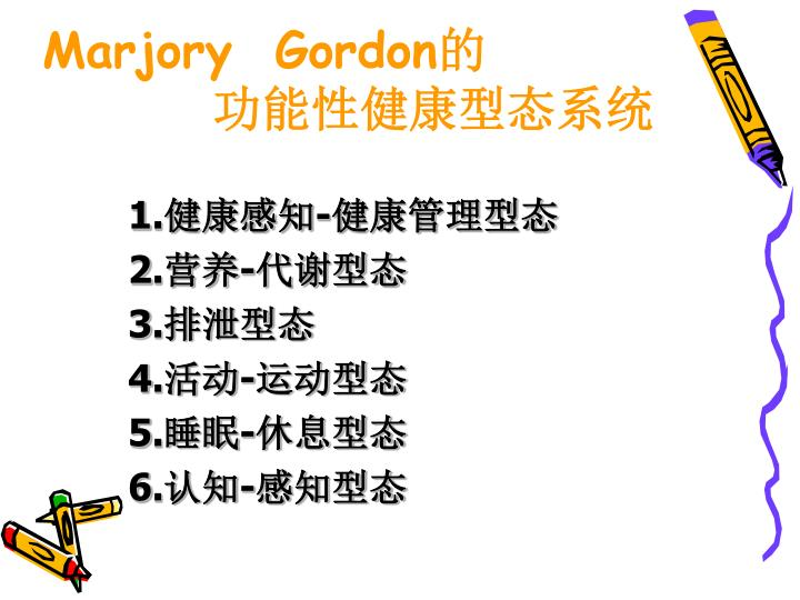 Marjory  Gordon