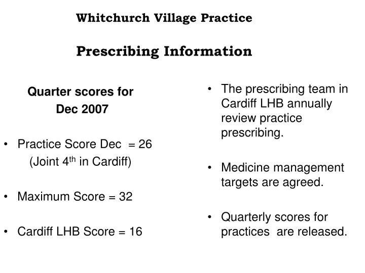 Whitchurch Village Practice