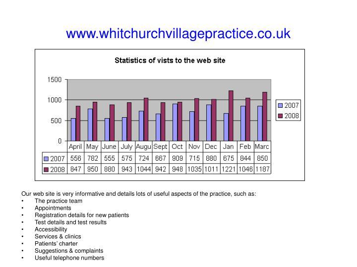 www.whitchurchvillagepractice.co.uk