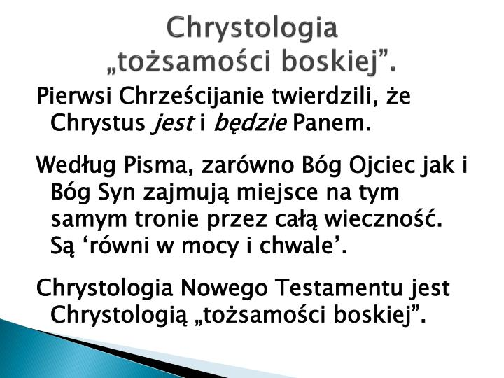 Chrystologia