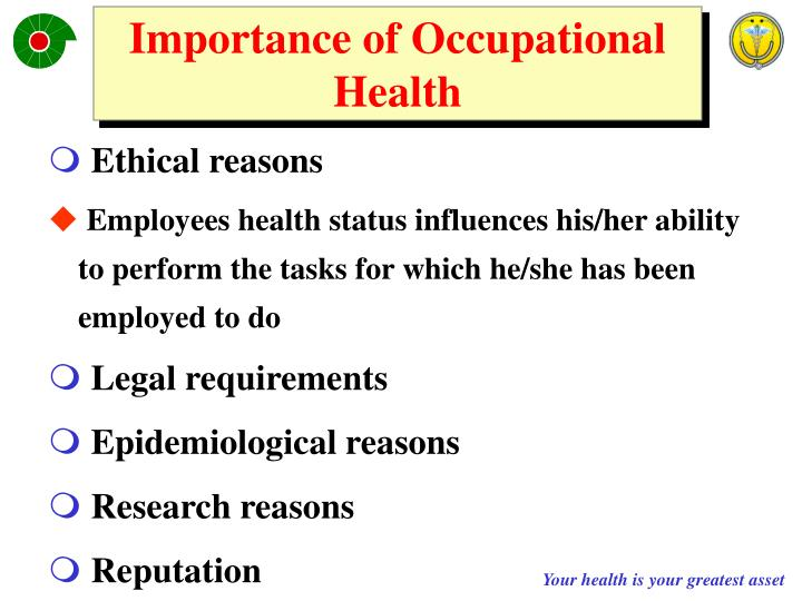 Importance of Occupational Health