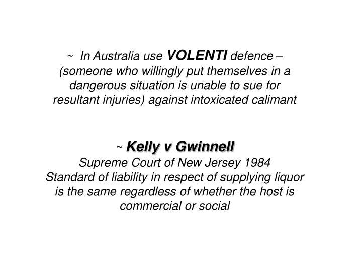 ~  In Australia use