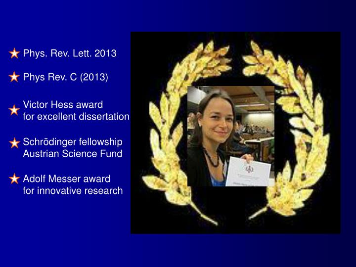 Phys. Rev. Lett. 2013